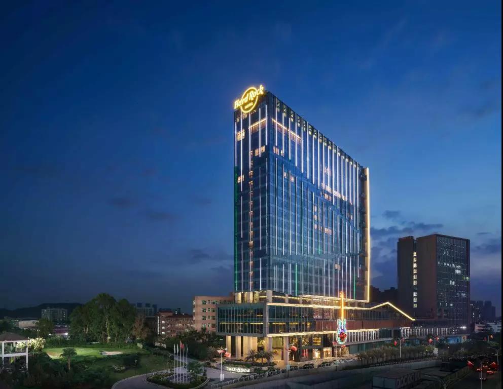 厉害了 中国大陆首家硬石酒店258间客房全部采用美力格床垫