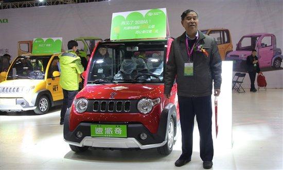 中国汽车工程学会电动汽车分会陈全世理事长莅临展会指导