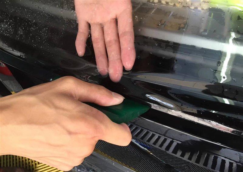 如何简单护理车漆?不如贴大师贴膜漆面保护膜